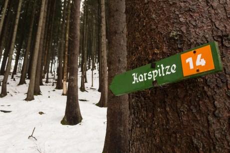 Winterwandern zur Karspitze ©Gipfelfieber