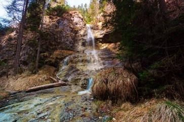 Wasserfall nach 2/3 des Weges ©Gipfelfieber