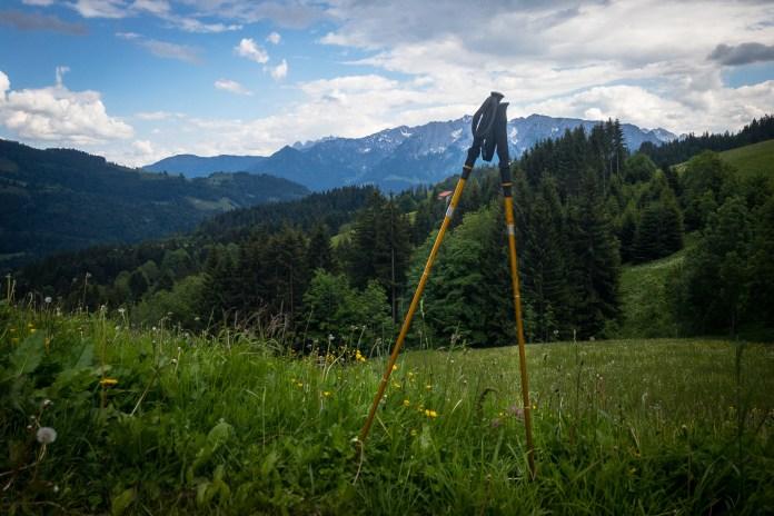 Helinox Passport TL120 Trekkingstöcke im Test: Rasante Leichtgewichte ©Gipfelfieber