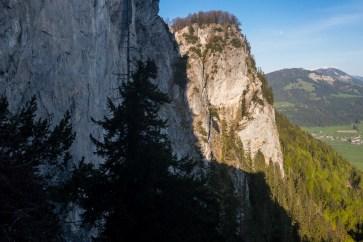 Felswände vom Niederkaiser ©Gipfelfieber