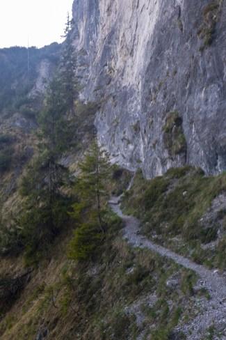 Einstieg zum Klettersteig ©Gipfelfieber