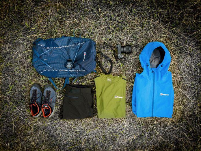 Projekt 16 Gipfel: Ein Blick in Rucksack und Kofferraum ©Gipfelfieber