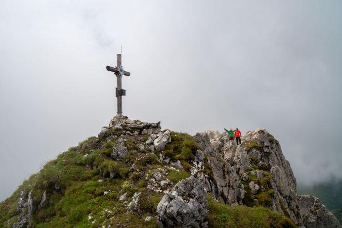 Gipfelkreuz vom Draugstein ©Gipfelfieber