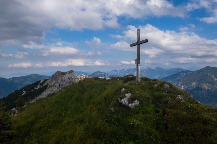 Gipfelkreuz vom Laubeneck ©Gipfelfieber