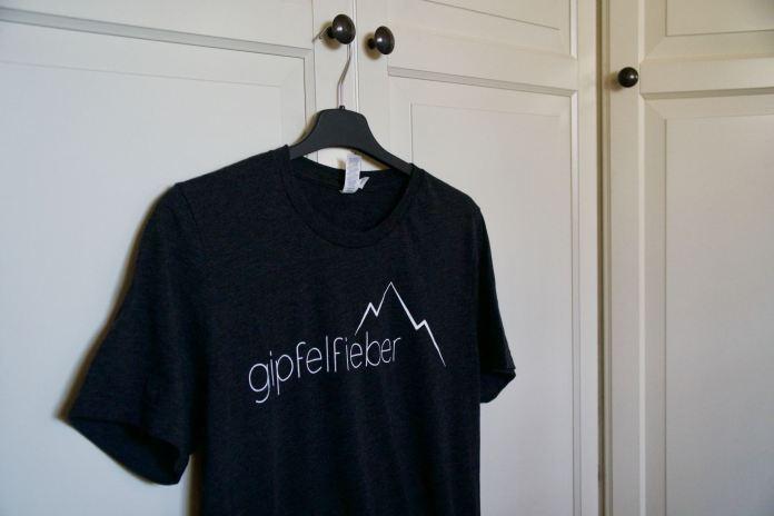 T-Shirt mit Logo ©Gipfelfieber