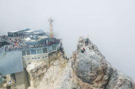 Gipfelplateau der Zugspitze ©Gipfelfieber