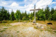 Gipfelkreuz vom Langenberg ©Gipfelfieber
