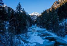 Schneeschuhwandern im Defereggental: Fährtenlesen für Einsteiger ©Gipfelfieber