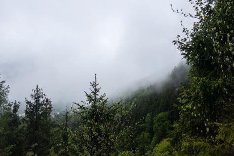 Dicke Wolken über dem Achental ©Gipfelfieber