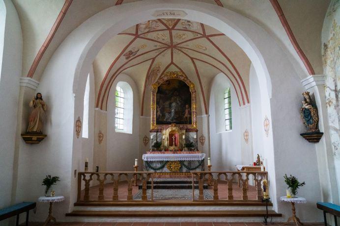 Im Inneren der Schnappenkirche ©Gipfelfieber