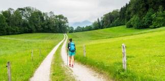 1. Etappe auf dem SalzAlpenSteig: Von Prien nach Grassau ©Gipfelfieber
