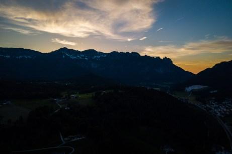 Lattengebirge im letzten Licht ©Gipfelfieber