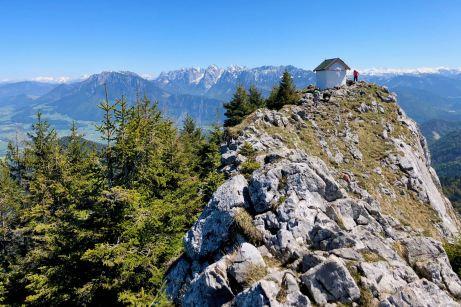 Spektakulär und abenteuerlich: Über den Julius-Mayr-Weg auf den Brünnstein ©Gipfelfieber