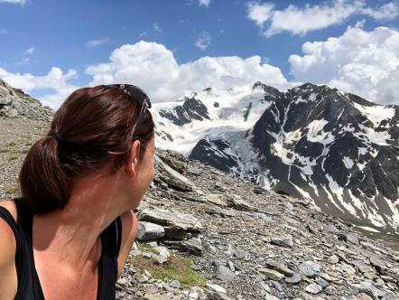 Fast mit Gletscherkontakt ©Etappen-Wandern.de