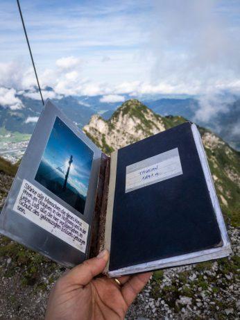 Gipfelbuch Tauernkopf ©Gipfelfieber