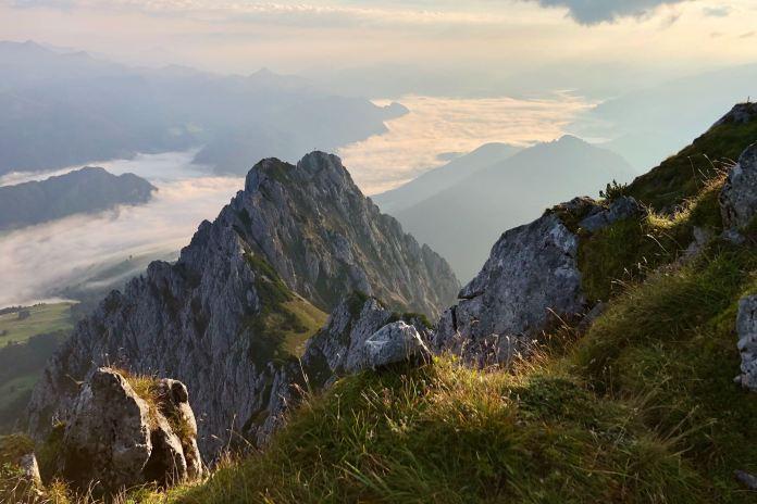 Jovenspitze: Einsames Gipfelglück im Zahmen Kaiser