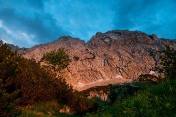 Alpenglühen am Scheffauer ©Gipfelfieber