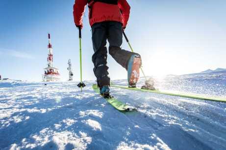 Skitourengeher am Patscherkofel ©Patscherkofelbahn