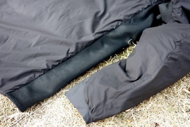 Arcteryx Atom LT Jacket Seiteneinsätze aus Stretch