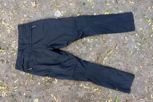 Fjällräven Traveller Zip-Off Trousers Rückseite