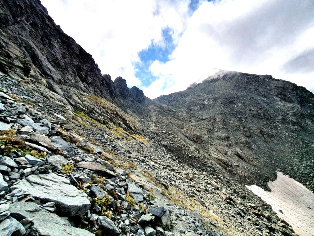 Erster Akt im Finale des Hannibal Trek: Aufstieg zum Col de Traversette
