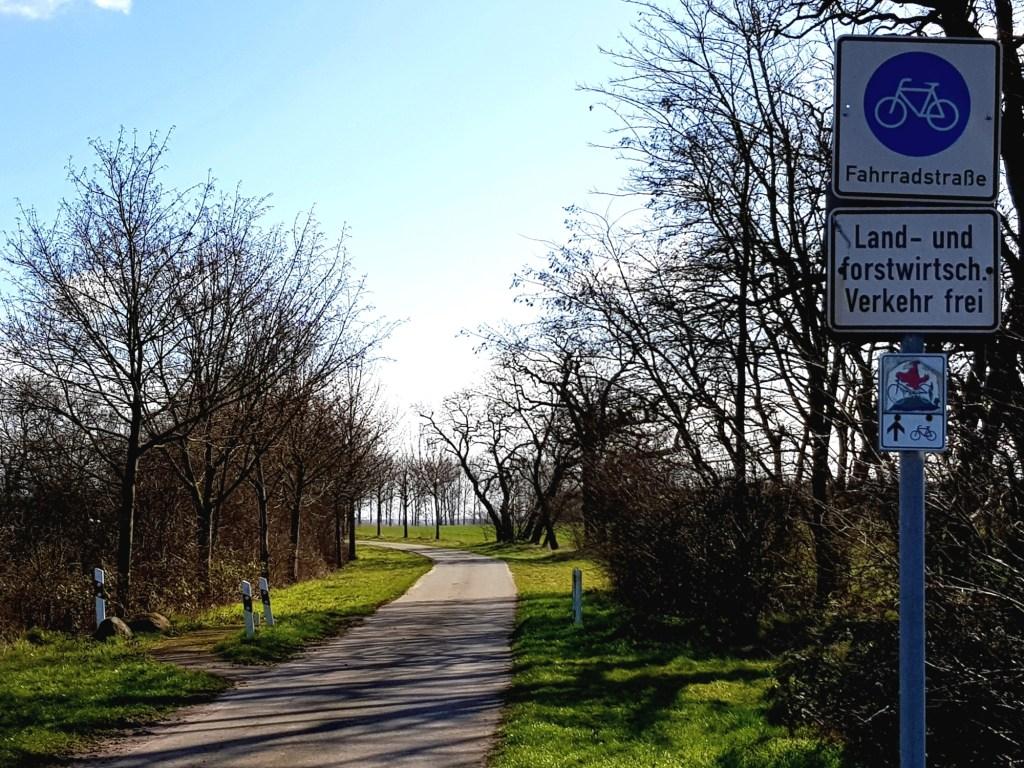 Der Havelland-Radweg besteht großteils aus Fahrradstraßen