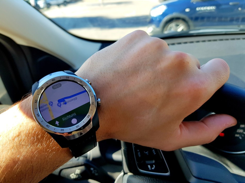 Mobvoi TicWatch Pro Navigation mit Google Maps