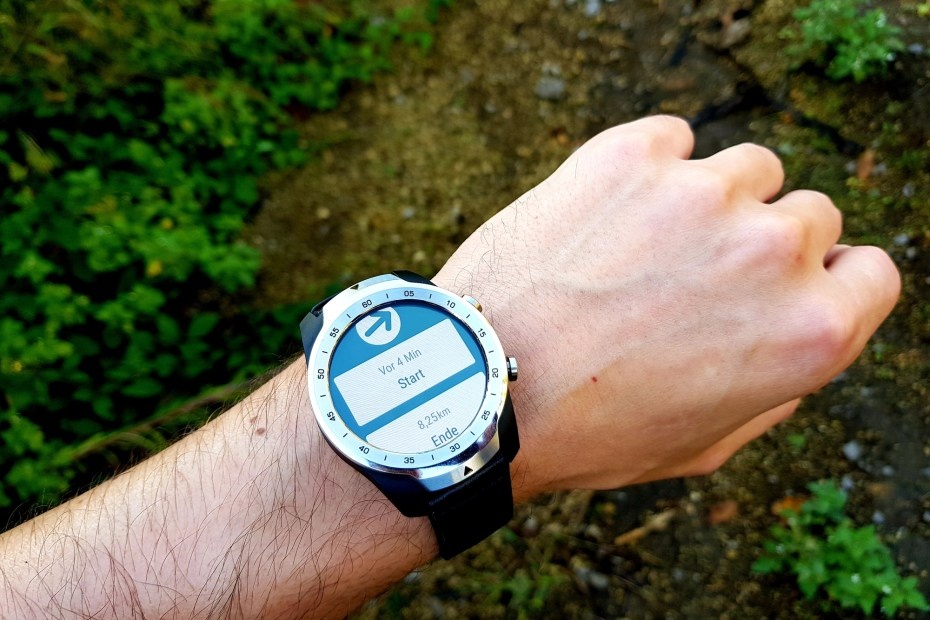 MobVoi TicWatch Pro Navigation mit Viewranger