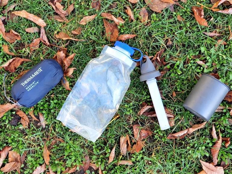 Einige der Produkte meiner Rucksack Packgewicht Abspeck Aktion 2020