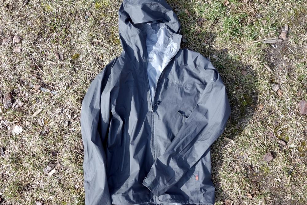 VAUDE Zebru UL 3L Jacket ultraleichte dreilagige Regenjacke