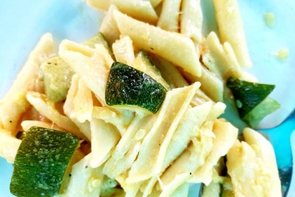 Zucchini-Nudeln Outdoor-Rezept