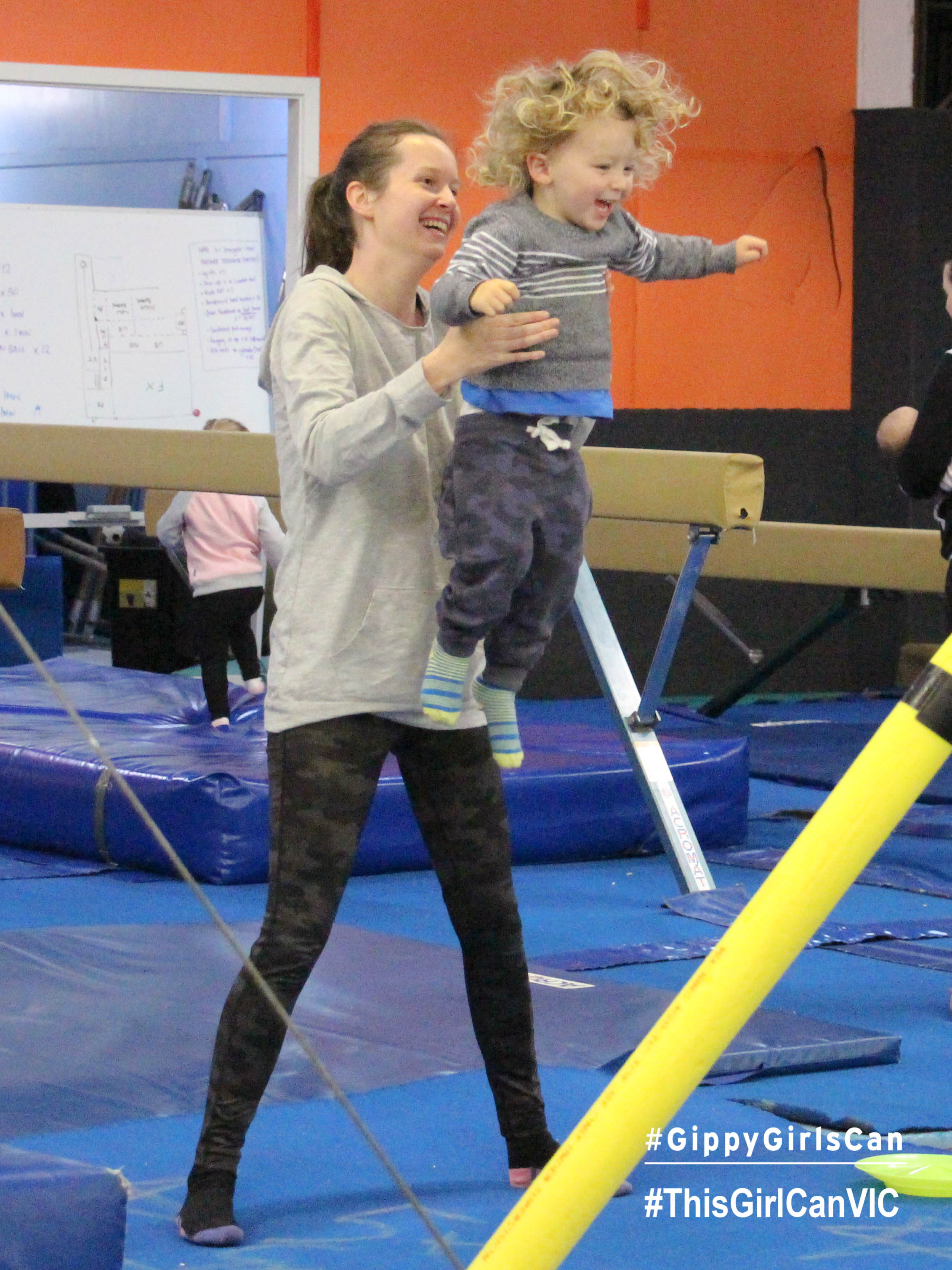 Gymnastics Fun with Mum – Morwell 16 May