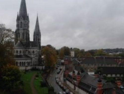 Cork panorama chiesa irlanda