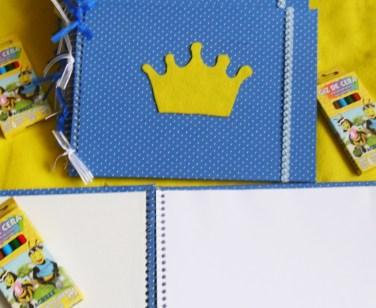 Caderno de Desenho Pequeno Príncipe