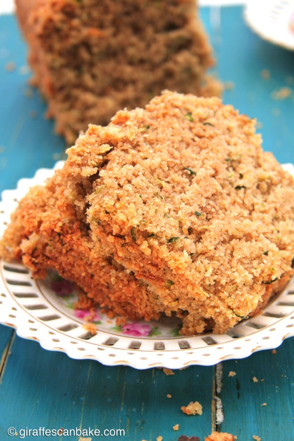 Olive Oil Zucchini Bread by Giraffes Can Bake - Delicious sweet bread that is Gluten Free, Dairy Free and Low FODMAP