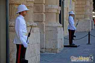 Guards in Valletta