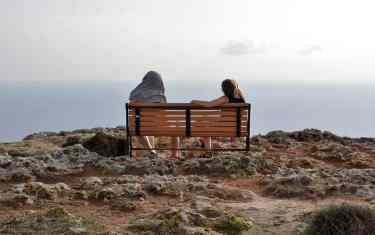 Couple in Dingli, Malta