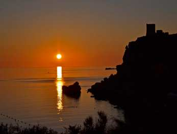 Sunset in Riviera Bay