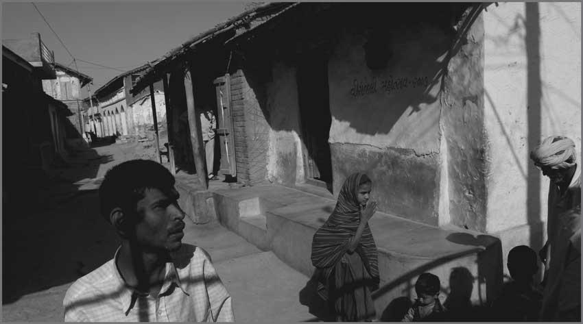 in Kutch village in 2008