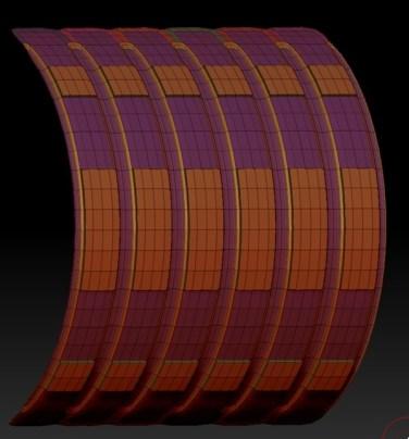 20140226_D  Create3D ZBrush4R6 machanic surface part1203