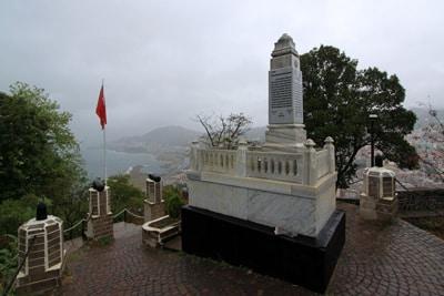 Giresun Kalesinde bulunan Topal Osman Aga'nin mezari