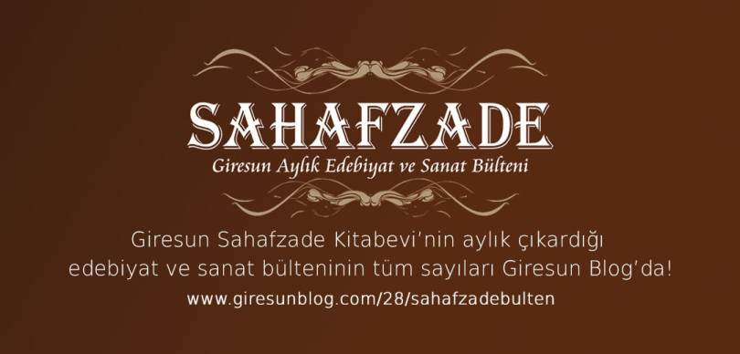 Sahafzade Bülten