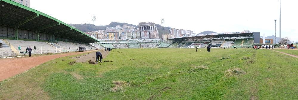 Giresun Atatürk Stadyumu'nun yeri Millet Bahçesi'ne dönüştürülecek
