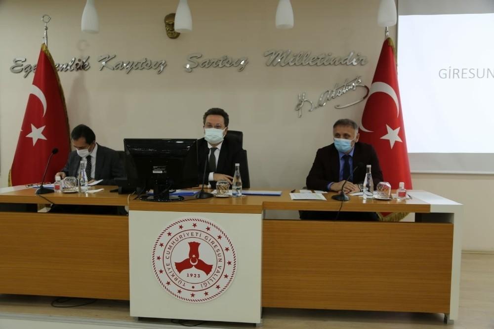 Giresun'da yeni korona virüs tedbirleri alındı