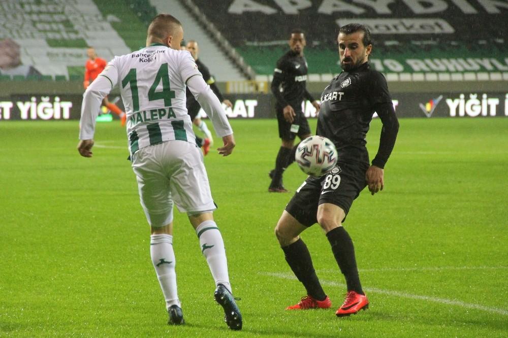 TFF 1. Lig: Giresunspor: 0 – Altay: 0 (İlk yarı)