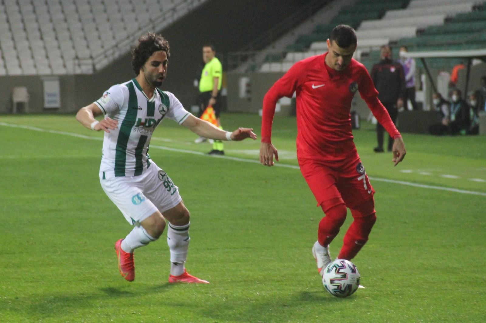 TFF 1. Lig: GZT Giresunspor: 1 – Ankara Keçiörengücü: 1 (İlk yarı sonucu)