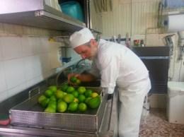 lavare i limoni verdelli