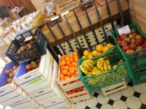 fruits and veggie at Boncis'