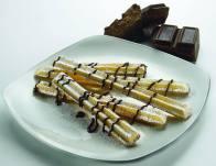 churros al cioccolato di Ape Lembo Bistrot
