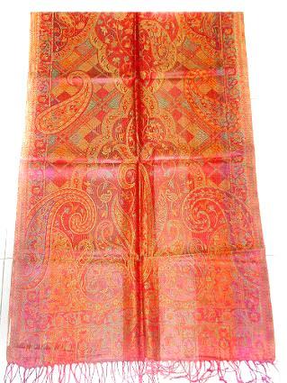 Silk Scarves, Silk Mufflers, Jamawar Scarves, Silk